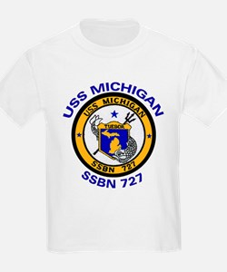 USS MICHIGAN SSBN 727 T-Shirt
