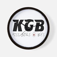 KGB Wall Clock
