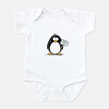 World's Greatest Dad Penguin Infant Bodysuit