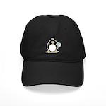 World's Greatest Dad Penguin Black Cap