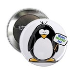 World's Greatest Dad Penguin Button