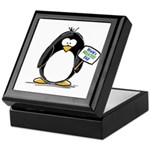 World's Greatest Dad Penguin Keepsake Box