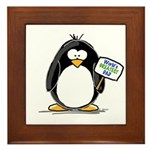 World's Greatest Dad Penguin Framed Tile