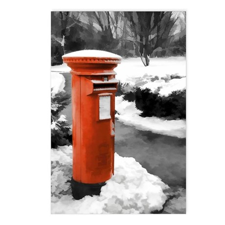 Postcards - Featuring British Red Post Box