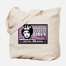 NOSG Helmet Girl Tote Bag