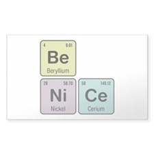 Be Nice - Be Ni Ce Decal