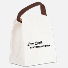 Dear Cupid Canvas Lunch Bag