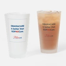 GOPNOCare Drinking Glass