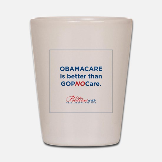 GOPNOCare Shot Glass