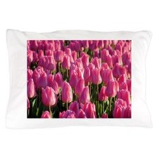 Pink Tulips Pillow Case