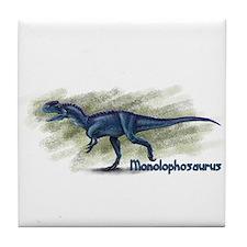 Allosaurus Dinosaur Tile Coaster