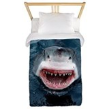 Great white shark Twin Duvet Covers