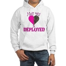 Half mt heart is deployed Hoodie