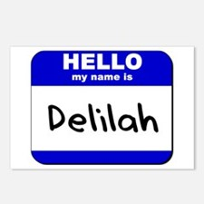 hello my name is delilah  Postcards (Package of 8)