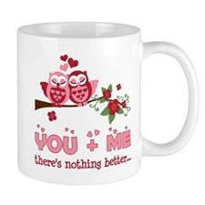 Valentine Couple Owl You And Me Mug