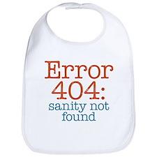 Error 404 Sanity Bib