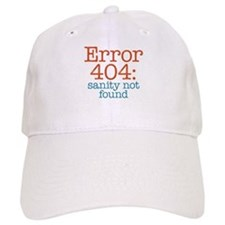 Error 404 Sanity Baseball Cap
