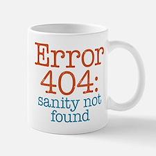 Error 404 Sanity Mug