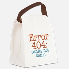 Error 404 Sanity Canvas Lunch Bag