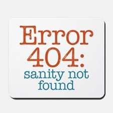 Error 404 Sanity Mousepad