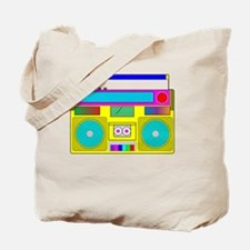 neon radio Tote Bag