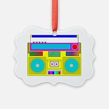 neon radio Ornament