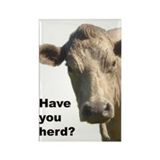 Have you herd? Rectangle Magnet (100 pack)
