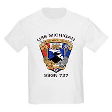 USS Michigan SSGN 727 T-Shirt