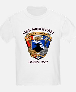 USS Michigan SSGN 727 T-Shirt
