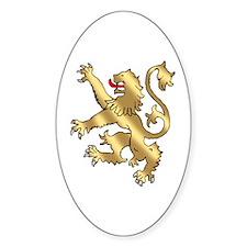 English Lion Rampant Decal