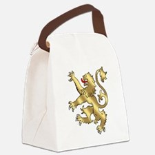 English Lion Rampant Canvas Lunch Bag