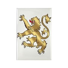 English Lion Rampant Rectangle Magnet (10 pack)