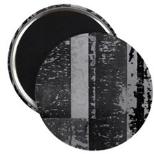 Black White Gray Rustic Old Wooden Texture Magnets
