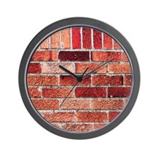 Red Bricks Industrial Building Pattern Texture Wal