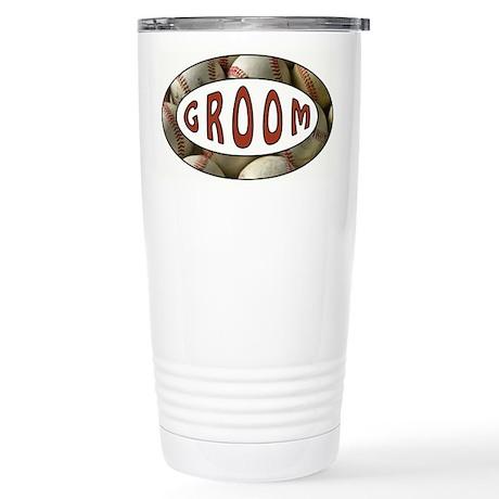 BASEBALL GROOM Travel Mug