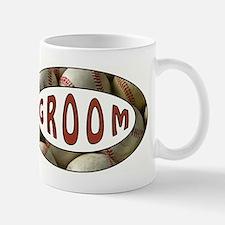 BASEBALL GROOM Mugs