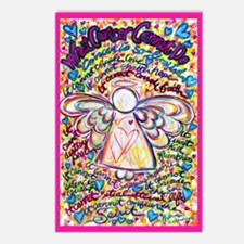 Spring Heart Cancer Angel Postcards (Package of 8)