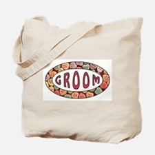 CANDY HEART GROOM Tote Bag