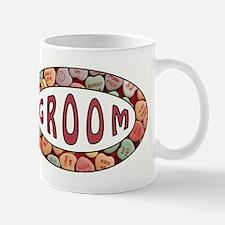 CANDY HEART GROOM Mugs