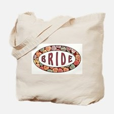 CANDY HEART BRIDE Tote Bag