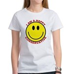Happy Conservative Women's T-Shirt