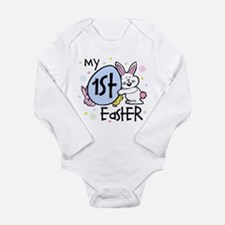 Bunny Chickie 1st Long Sleeve Infant Bodysuit
