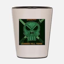 99zkt skull weapons1 Shot Glass