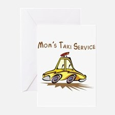 Mom's Taxi Service Greeting Cards (Pk of 10)