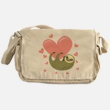 Sloth Messenger Bag
