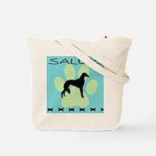 saluki dog  Tote Bag