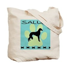 saluki dog  Tote Bag
