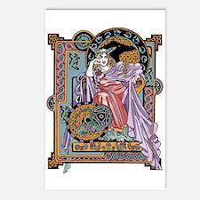 Corbie Queen Postcards (Package of 8)
