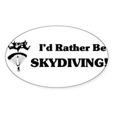 IdRatherbeSkydivingsticker.jpg Decal