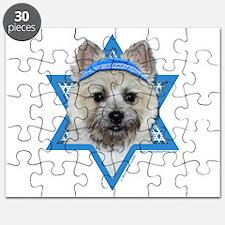 Hanukkah Star of David - Cairn Puzzle